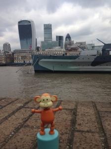 Monkey Easter 04 HMS Belfast