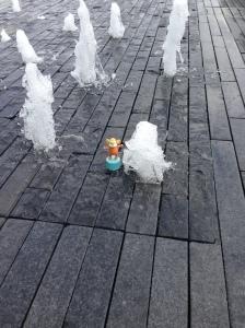 Monkey Easter 06 Fountain