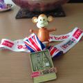 2015-0712-01 Hayley's 10k medal